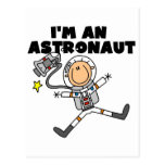 Soy camisetas y regalos de un astronauta tarjeta postal