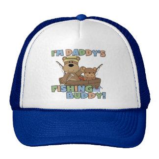 Soy camisetas y regalos del compinche de la pesca gorro de camionero