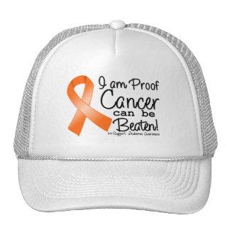 Soy cáncer de la leucemia de la prueba puedo ser b gorras de camionero