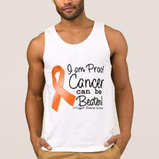 Soy cáncer de la leucemia de la prueba puedo ser playera de tirantes