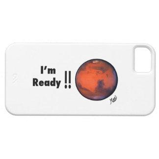 soy caso listo del iPhone 5 de Marte iPhone 5 Carcasa