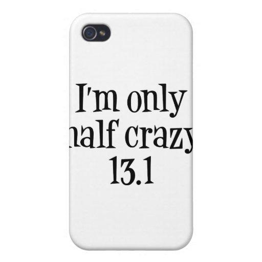 Soy caso loco solamente medio del iphone iPhone 4 protector