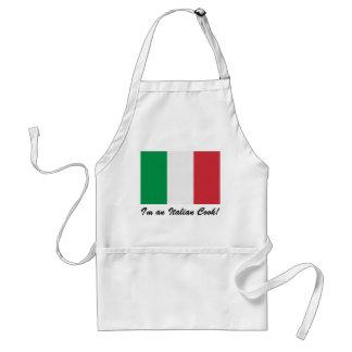 ¡Soy cocinero italiano! Delantal