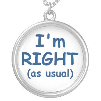 Soy collar derecho