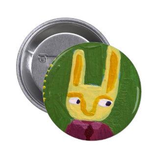 Soy conejo pin redondo 5 cm