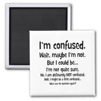 Soy confuso… imán cuadrado