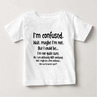 Soy confuso… playera de bebé