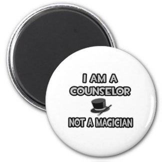 Soy consejero… no un mago imán redondo 5 cm