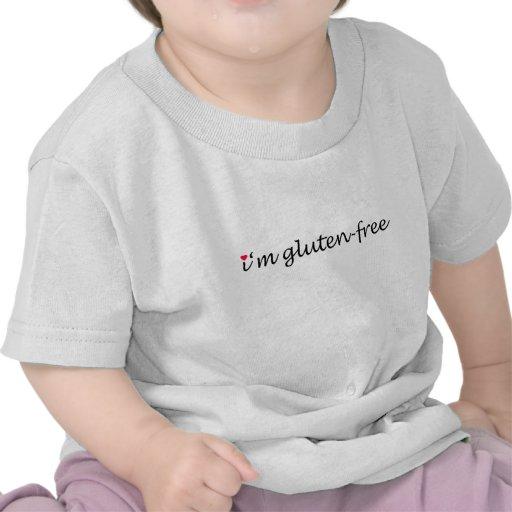 Soy (corazón) gluten-libre - niño camiseta