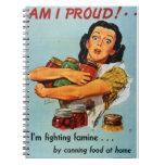 """""""Soy"""" cuaderno orgulloso de los años 40"""