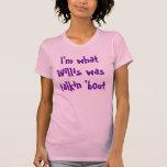 Soy cuál era combate del talkin Willis ' Camisetas
