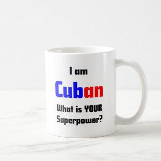 Soy cubano taza de café