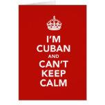 Soy cubano y no puedo guardar calma felicitacion