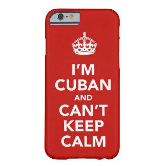 Soy cubano y no puedo guardar calma funda para iPhone 6 barely there