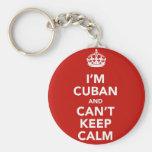 Soy cubano y no puedo guardar calma llavero personalizado