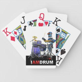 Soy cubierta del robot del tambor de tarjetas barajas de cartas