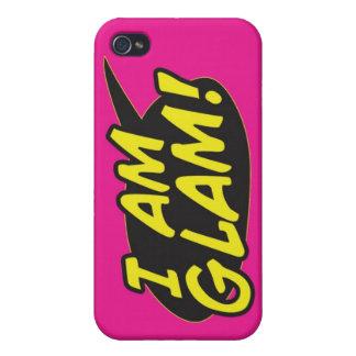 """Soy"" cubierta rosada atractiva del teléfono del i iPhone 4/4S Carcasa"