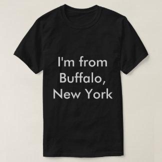 ¿Soy de búfalo, Nueva York… cuál es su EXCUSADO?? Playera