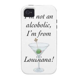 Soy DE LUISIANA B iPhone 4 Fundas