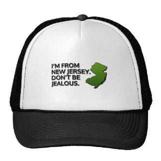 Soy de New Jersey. No sea celoso Gorra