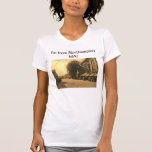 ¡Soy de Northampton mA! Vintage Remera