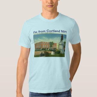 Soy de vintage de Cortland Nueva York Remera