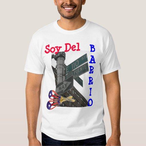 Soy Del Barrio Playera