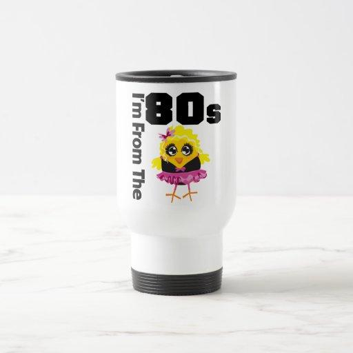 Soy del polluelo de los años 80 taza