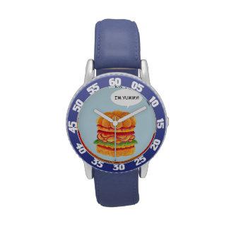 ¡Soy delicioso! - Serie de la hamburguesa Reloj De Mano