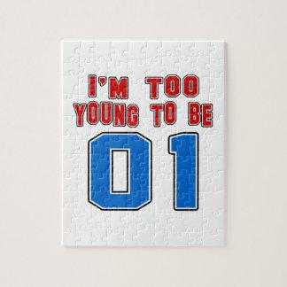 Soy demasiado joven ser 01 rompecabezas con fotos