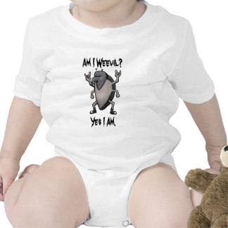 Soy dibujo animado del metal pesado del gorgojo trajes de bebé