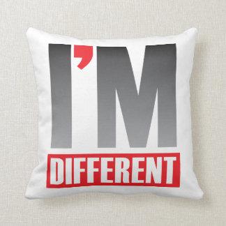 Soy diversa almohada de tiro