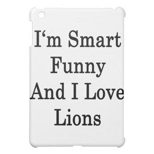 Soy divertido elegante y amo leones