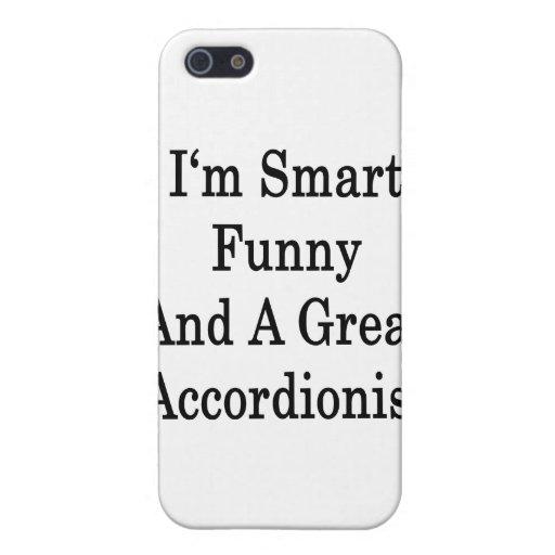 Soy divertido elegante y gran acordeonista iPhone 5 coberturas