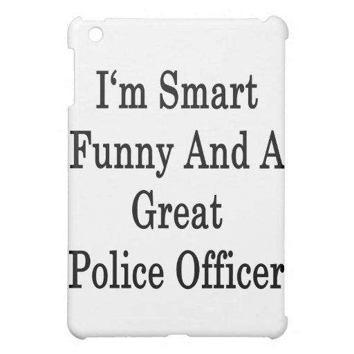 Soy divertido elegante y gran oficial de policía