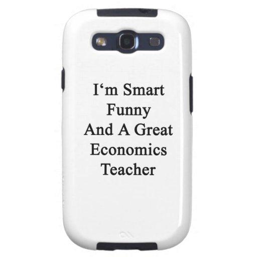 Soy divertido elegante y gran profesor de la econo galaxy SIII fundas