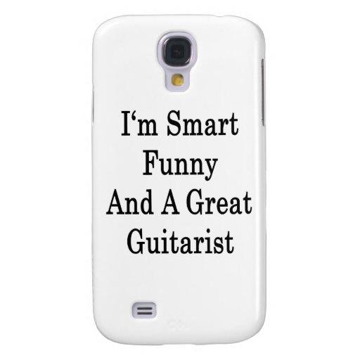 Soy divertido elegante y un gran guitarrista
