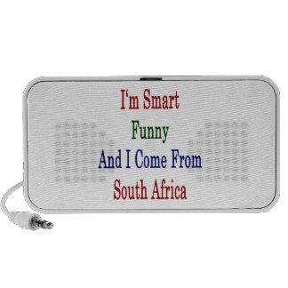 Soy divertido elegante y vengo de Suráfrica Altavoz De Viaje
