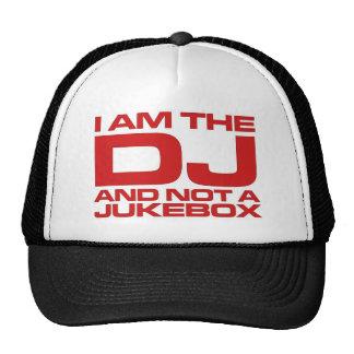 Soy DJ Gorros Bordados