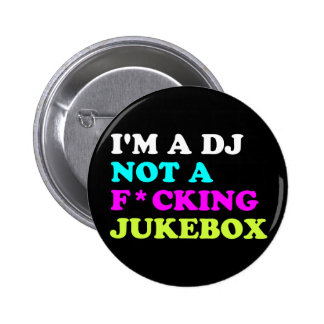Soy DJ no una máquina tocadiscos Pin