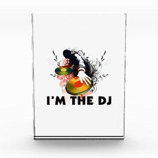 Soy DJ Rockin las placas giratorias