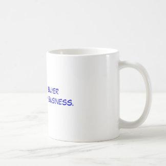 Soy drogas de compra de un comprador de la taza clásica