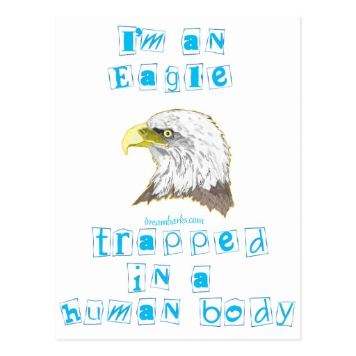 Soy Eagle Tarjeta Postal