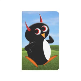 Soy ejercicio malvado del pingüino de Walkin Cuaderno