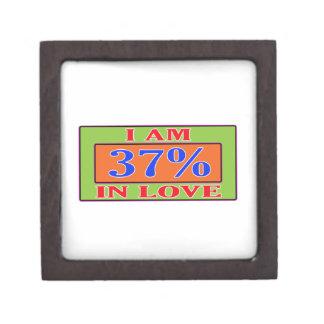 Soy el 37% en amor cajas de regalo de calidad