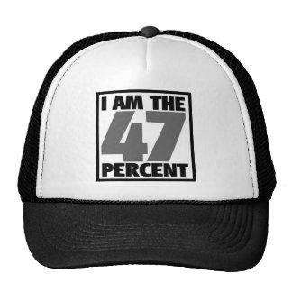 Soy el 47% gorros