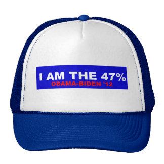 Soy el 47% gorros bordados