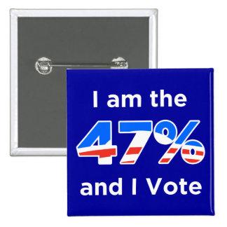 Soy el 47% y voto el botón