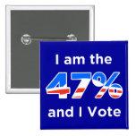 Soy el 47% y voto el botón pin