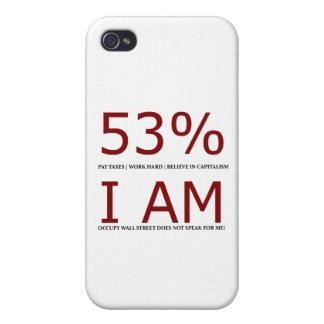Soy el 53% iPhone 4/4S carcasas